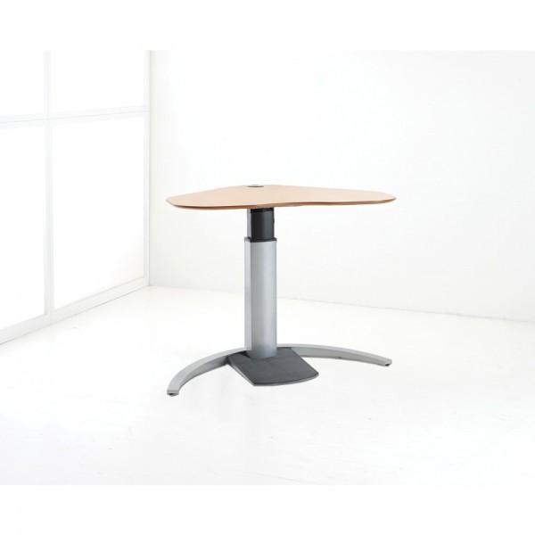 ConSet Schreibtisch STEH/sitz Herz 1-säulig Design 100kg