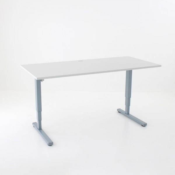 ConSet Schreibtisch STEH/sitz 100kg eckig