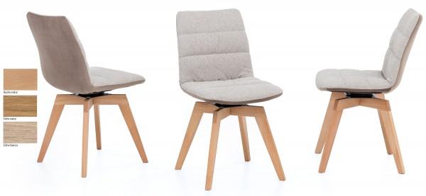 Standard Furniture Phil Holz Drehstuhl 180° versch. Farben