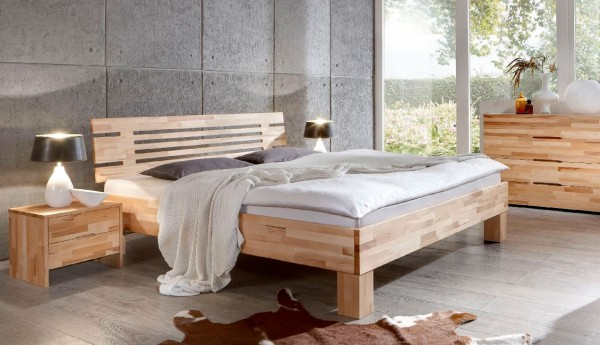 Dico Classic 330 Massivholzbett buche in verschiedenen Oberflächen