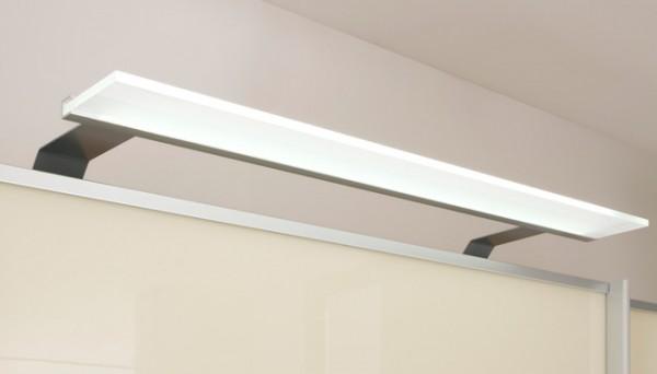 LED Möbel Beleuchtung Candleline alufarbig