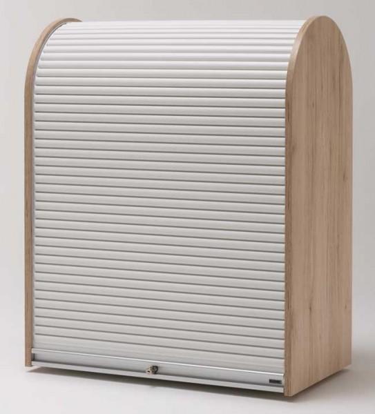 Rolladenschrank weiß  Klenk Dancer Woodside Rolladenschrank weiß abschließbar | Möbelmeile24