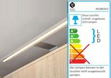 LED Schrankbeleuchtung Fineline chromfarbig