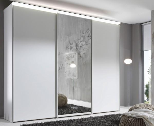Staud Sinfonie Plus Schwebetürenschrank Dekor mit Spiegel Höhe 200 cm