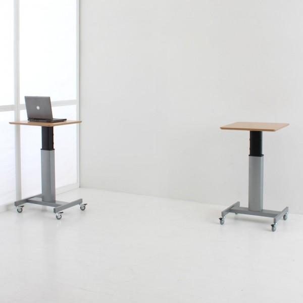 ConSet Schreibtisch STEH/sitz 1-säulig Center 100kg
