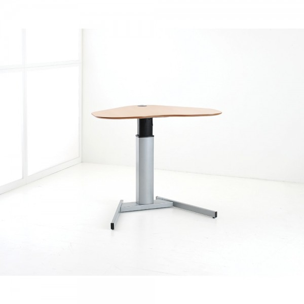 ConSet Schreibtisch STEH/sitz Herz 1-säulig Basic 100kg