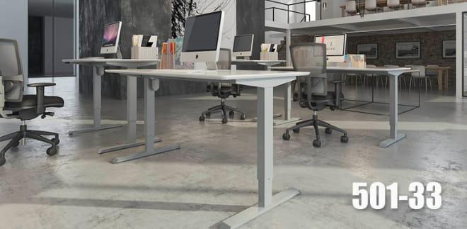 ConSet Schreibtisch STEH/sitz