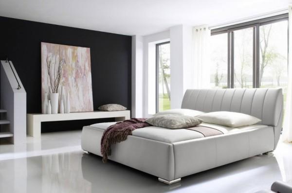 Meise Bern modernes Polsterbett mit Bettkasten Kunstleder