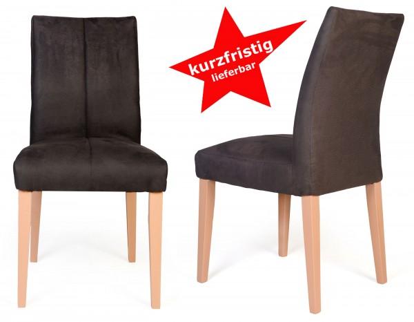 Standard Furniture Flynn1 2er Set Posterstühle braun kurzfristig