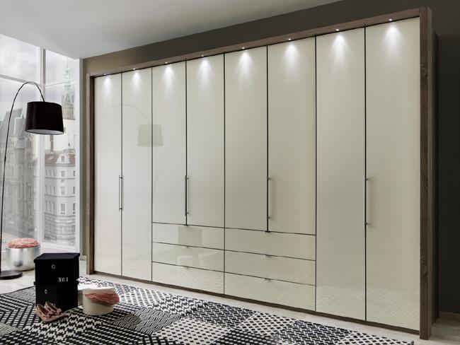 Wiemann Loft Faltturenschrank Mit Schubladen 400 Cm Viele Farben Mobelmeile24