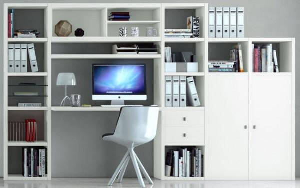 Toro Regal mit Schreibtisch weiß individuell planen