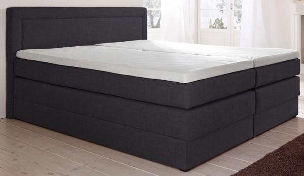 Hapo Oregon Boxspringbett mit Bettkasten 200x200 cm variabel
