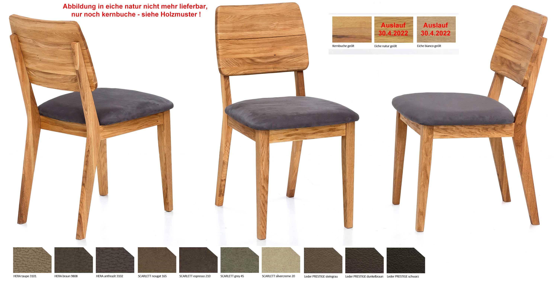 Einzigartig Polsterstuhl Eiche Referenz Von Standard Furniture Norman 2 Oder Kernbuche |