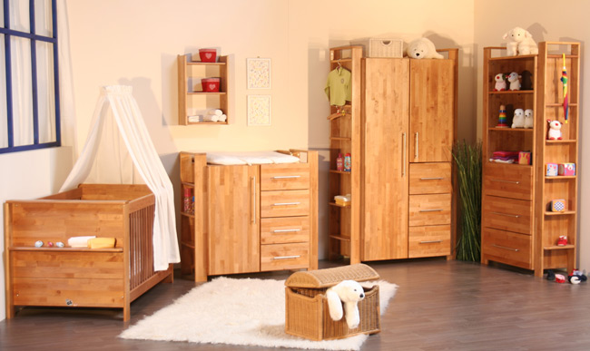 babyzimmer komplett g nstig online kaufen m belmeile24. Black Bedroom Furniture Sets. Home Design Ideas