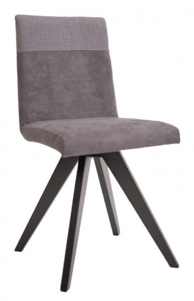 Grenoble Polsterstuhl mit Spidergestell schwarz, eiche oder buche