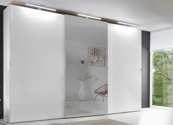 Staud Avigo Schwebetürenschrank weiß mit Spiegel Breite 188 cm
