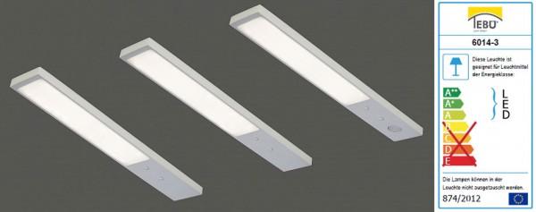 Tebü LED Unterbauleuchte Rechteck 6014-3