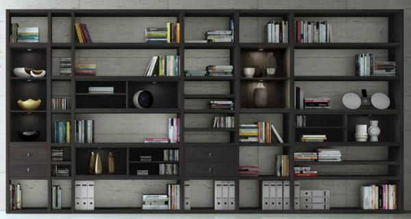 Toro Bücherregal mit Schubladen individuell in vielen Farben