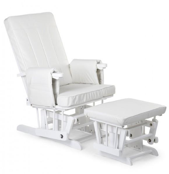 stillstuhl hocker kiefer massiv wei entspannungsstuhl glider m belmeile24. Black Bedroom Furniture Sets. Home Design Ideas
