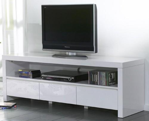 TV Unterschrank schwarz Hochglanz