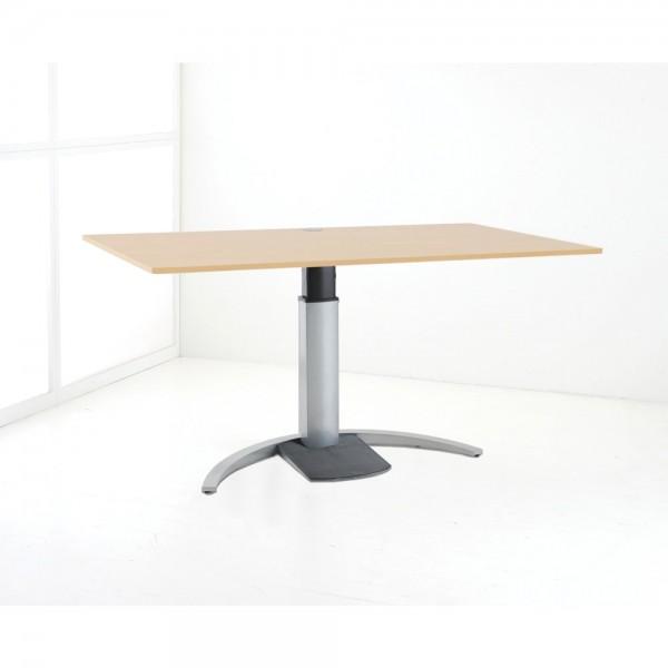 ConSet Schreibtisch STEH/sitz 1-säulig Design 100kg