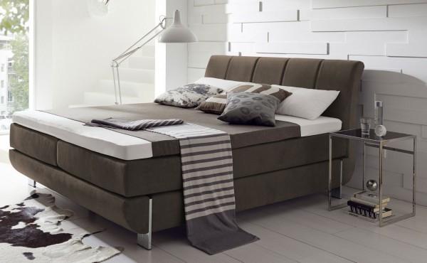 hapo ronda boxspringbett 100x200 cm in vielen farben m belmeile24. Black Bedroom Furniture Sets. Home Design Ideas