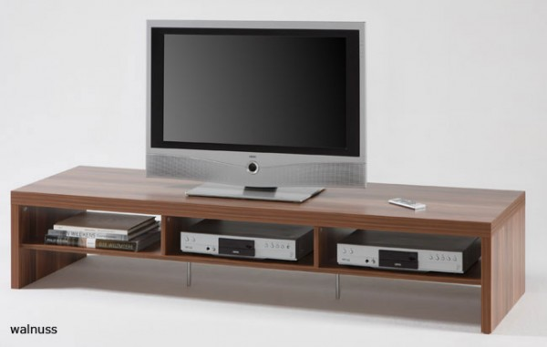 tv lowboard 180 cm nussbaum wenge buche oder ahorn m belmeile24. Black Bedroom Furniture Sets. Home Design Ideas