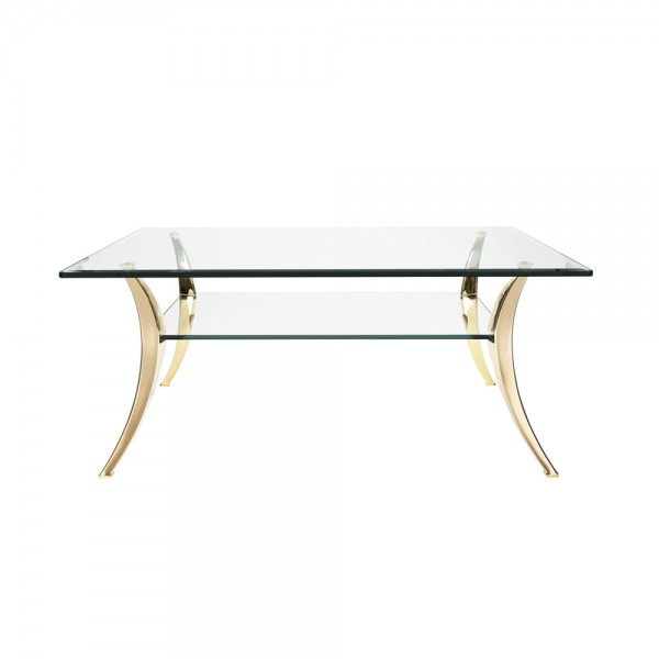 EVE collection Stromboli Couchtisch Messing