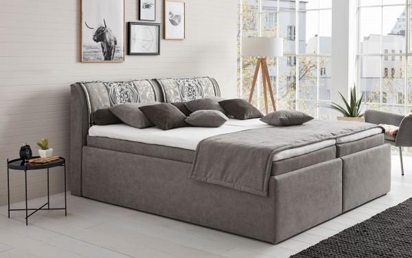 Hapo Leona Polsterbett 160x200 cm mit Bettkasten viele Farben