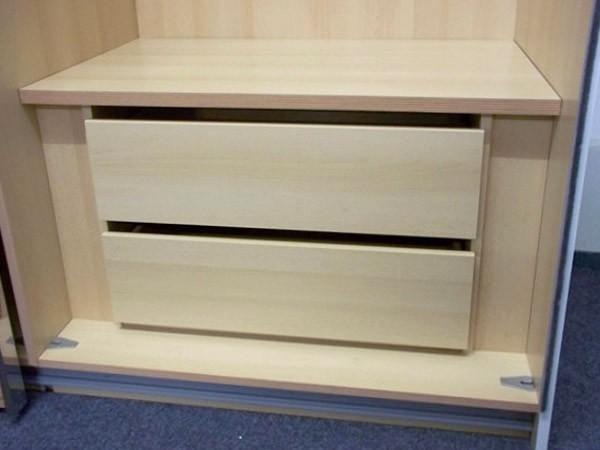 Staud 2er Set Schubladen für Kleiderschrank weißbuche o. texline