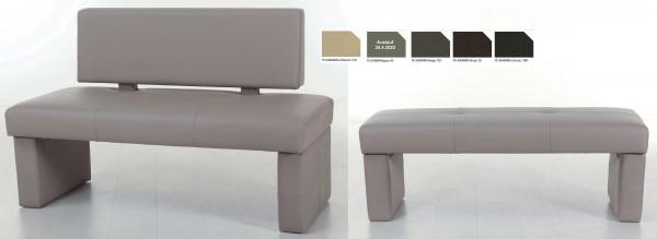 Standard Furniture Domino Polsterbank Kunstleder viele Farben u. Größen