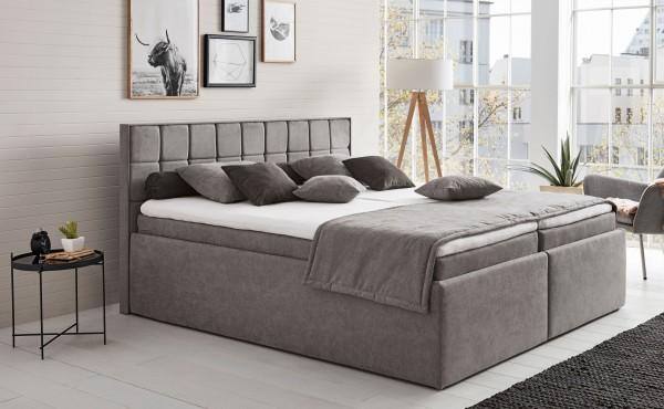 Hapo Leona Polsterbett 120x200 cm mit Bettkasten viele Farben