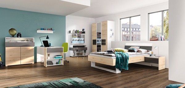jugendzimmer hilight jugendm bel individuell planbar m belmeile24. Black Bedroom Furniture Sets. Home Design Ideas