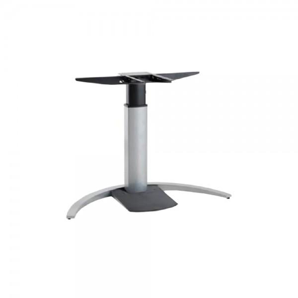 ConSet Schreibtischgestell STEH/sitz Design 1-säulig 100kg