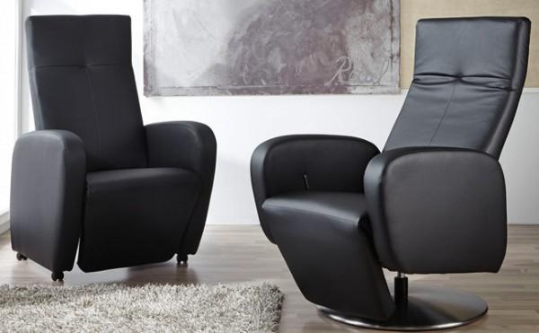 TV Sessel verstellbar Leder oder Stoff wählbar
