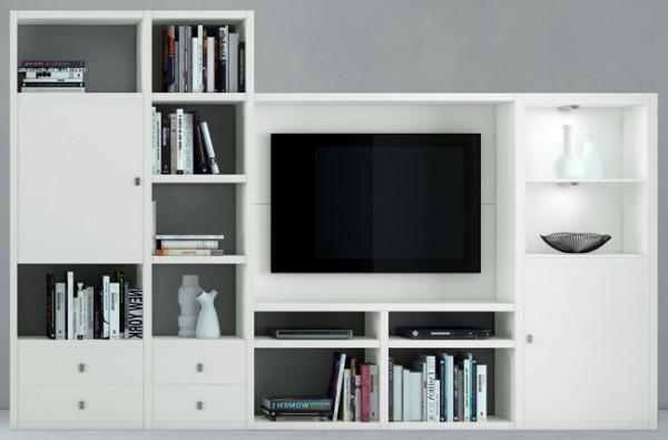 Toro tv wohnwand weiss u mehr farben individuell planen - Wohnwand planen ...