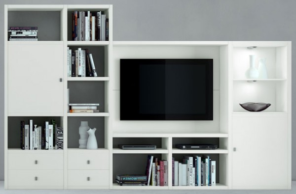 toro tv wohnwand weiss u mehr farben individuell planen. Black Bedroom Furniture Sets. Home Design Ideas