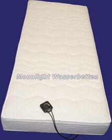 moonlight Classic Wassermatratze für Lattenrost 140 cm Breite