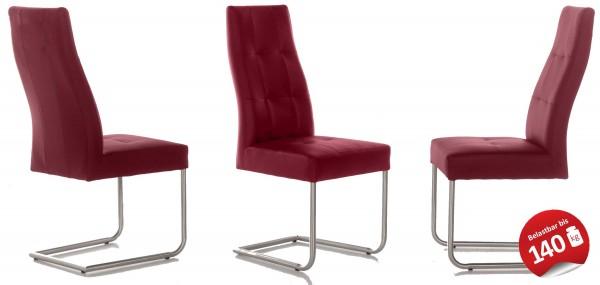 Standard Furniture Henry Schwingstuhl Kunstleder cherry kurzfristig