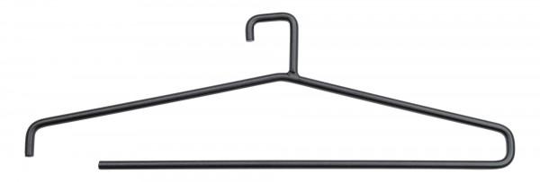 3er Set Kleiderbügel schwarz Stahl verschiedene Designs