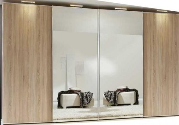 Staud Sinfonie Plus Panoramaschrank mit Spiegel