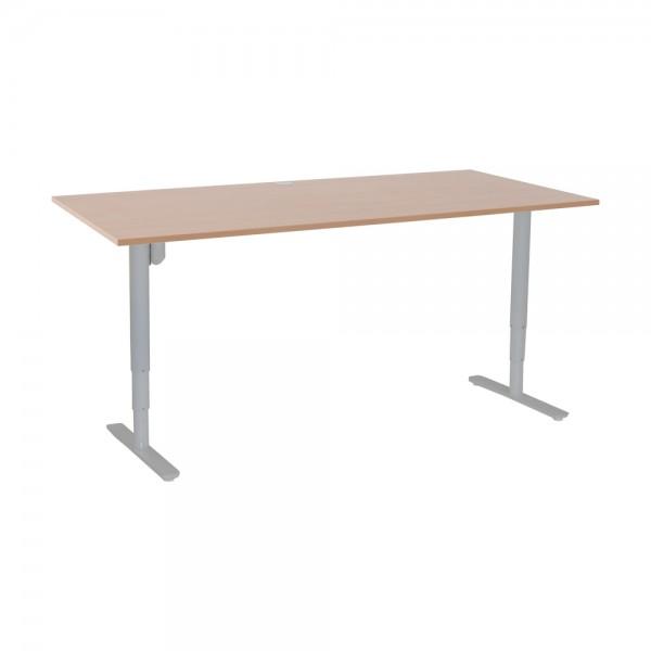 ConSet Schreibtisch STEH/sitz 100kg rund