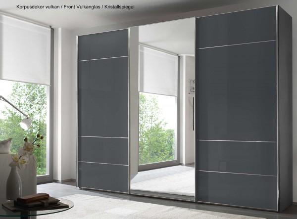 Staud Sonate Lucca Schwebetürenschrank mit Spiegel Breite 298 cm