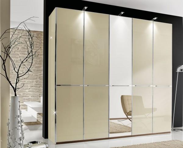 Wiemann Shanghai Kleiderschrank mit Spiegel / Glas viele Farben