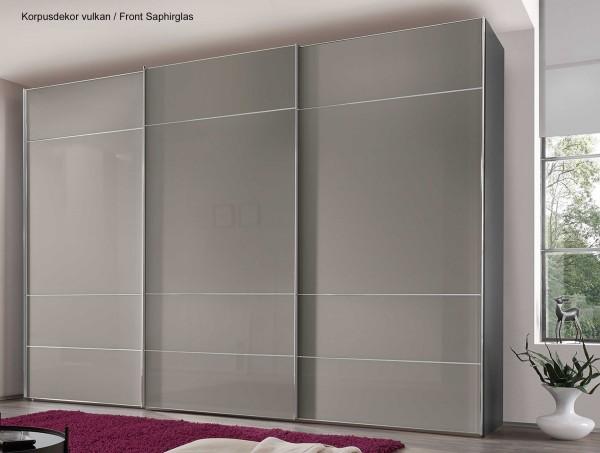 Staud Sonate Lucca Schwebetürenschrank Glas in 5 Farben Breite 200 cm