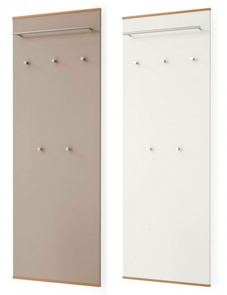 Voss LOVENO Garderobenpaneele weiß taupe viele Größen