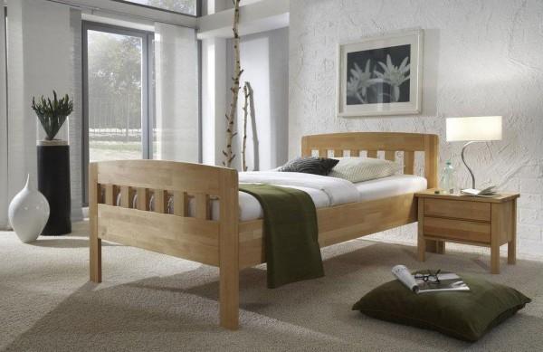 Dico Komfortbett 420 Massivholz buche o. wildeiche