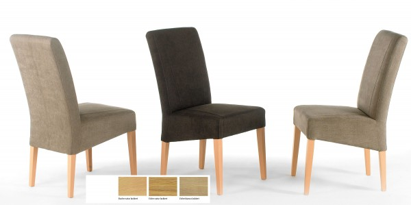Standard Furniture Leon Polsterstühle mit Holzgestell