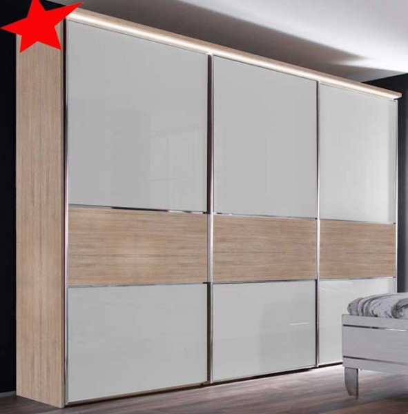 staud sinfonie plus schwebet renschrank mit mittelband h he 240 cm m belmeile24. Black Bedroom Furniture Sets. Home Design Ideas