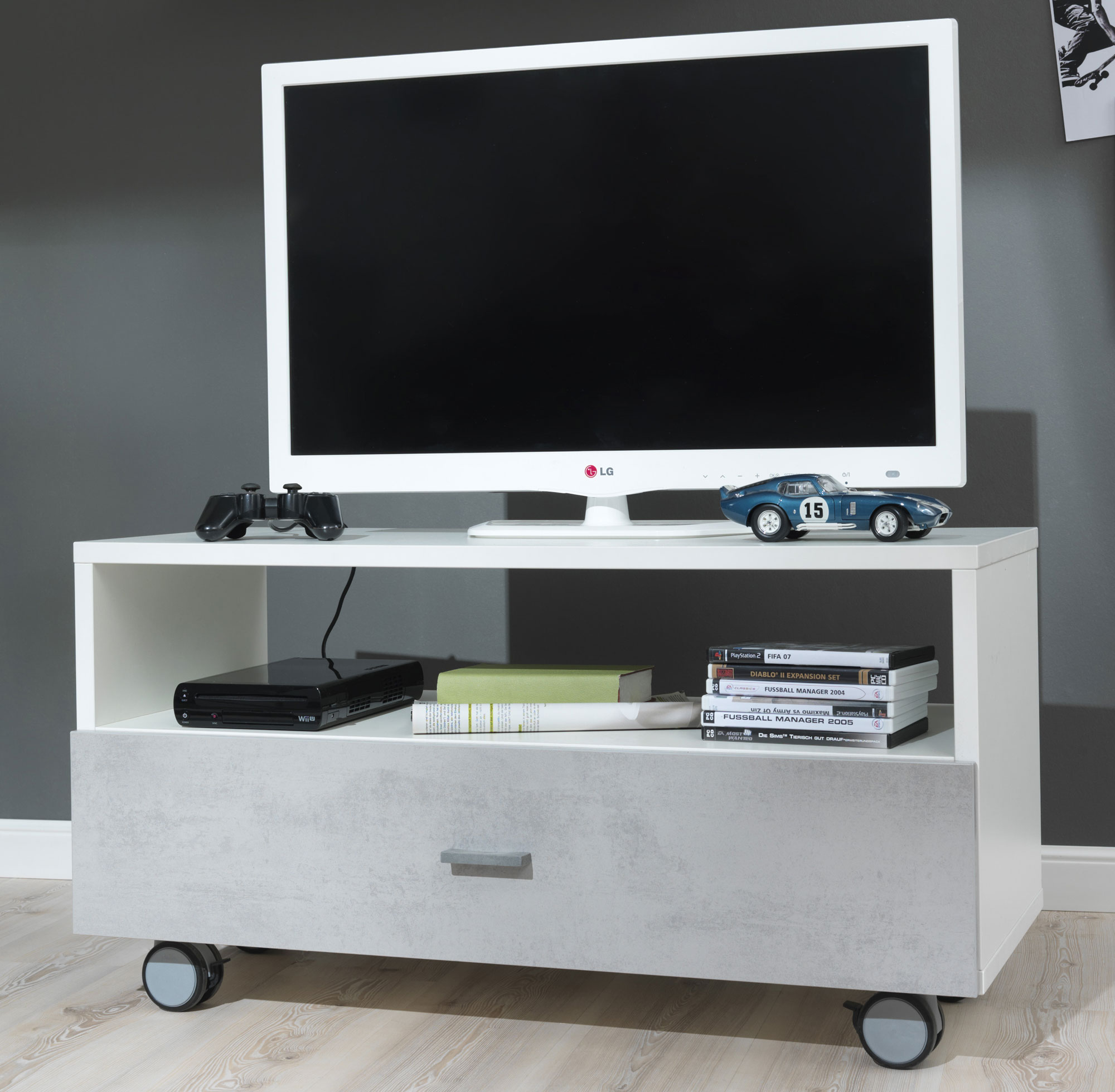 tv m bel g nstig online kaufen m belmeile24. Black Bedroom Furniture Sets. Home Design Ideas